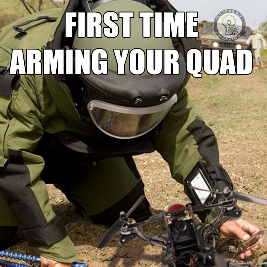 arming quad meme fpv