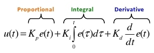 PID mathematical formula