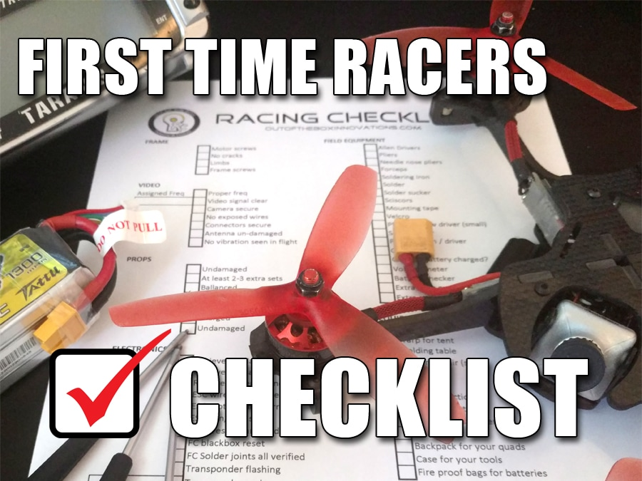 First time checklist picture